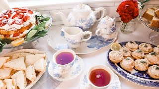 Afternoon Tea Vlog | SUMMER | Daily Connoisseur