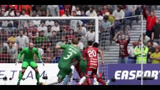 FIFA 18 GAMEPLAY GOALS AND HIGHLIGHTS HAMMARBY - ÖSTERSUND