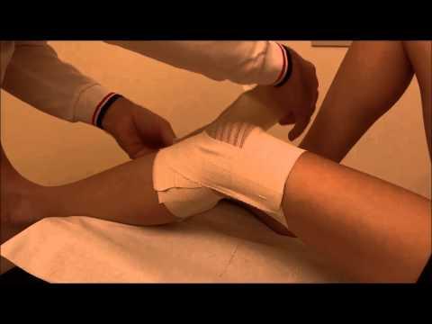 TUTORIAL - Bendaggio di base per ginocchio