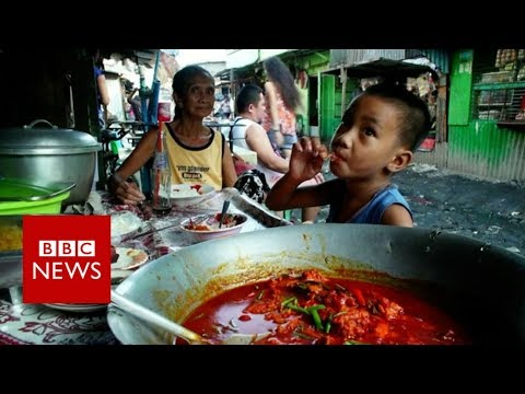 BBC mini-doc about 'pagpag' - Recycled meat from rubbish dumps eaten by Philippines poor (2018)