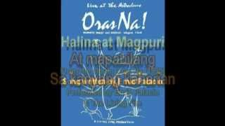 Halina at Magpuri - Ernie Palacio