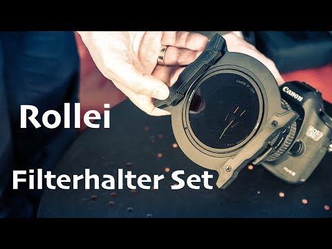 Rollei Filterhalter Set - Durchdacht und Erweiterbar! #eycrollei