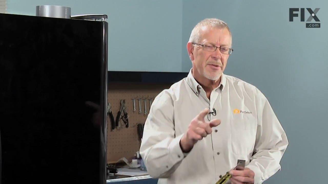 Replacing your Frigidaire Refrigerator Crisper Support - Rear