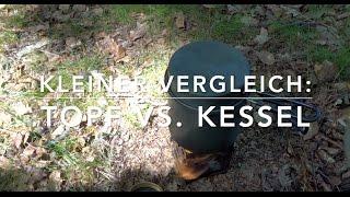 Topf vs. Kessel - Ben testet mögliches Kochgerät für Schweden