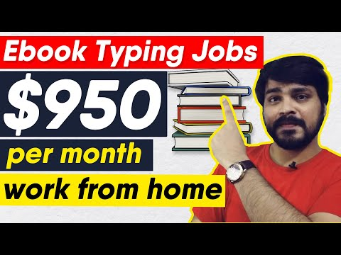 , title : 'Earn $100/- Daily With Ebook Typing Jobs | Work from home.Part time job | online typing jobs 2020