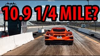 The 2020 C8 Corvette 1/4 mile time that may surprise us all