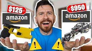 I Bought All The DANGEROUS Products On Amazon!!
