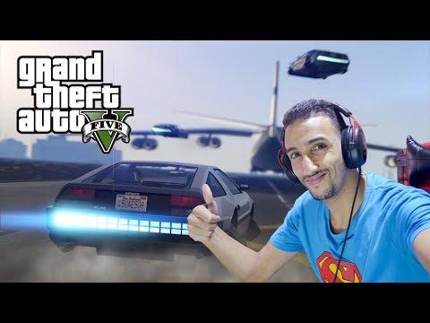 تجربة قراند 5 GTA ( التحديث الجديد 1.42 )حرامى السيارات 5Grand Theft Auto V update 2018