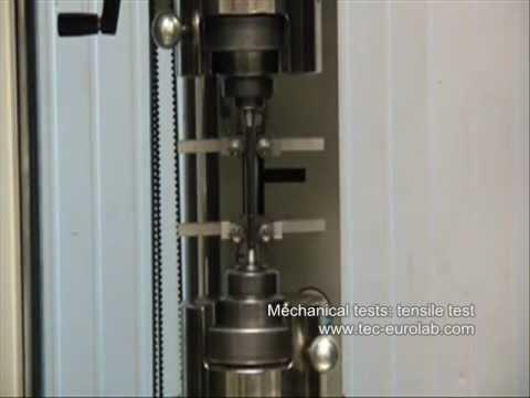 TEC Eurolab.com: [Analisi Materiali] Prove meccaniche - Prova di trazione (tensile test)