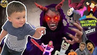DAT BOY SHAWN DOE! Family Fun FV Halloween Shopping Vlog