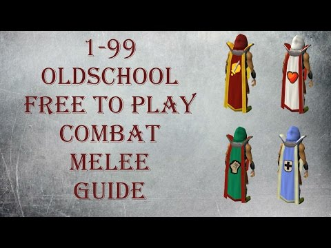 OSRS 1-99 Melee Guide | Updated Old School Runescape Attack
