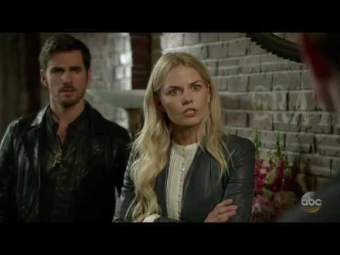 Once Upon a Time 6x05 Emma reveals her secret to her family.