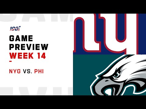New York Giants vs Philadelphia Eagles Week 14 NFL Game Preview