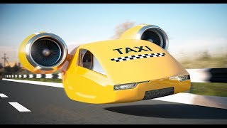 Летающие такси уже реальность