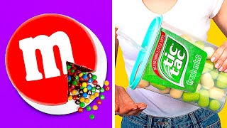 GIANT CANDIES CHALLENGE || Huge DIY M&M's And Tic Tac You've Ever Seen