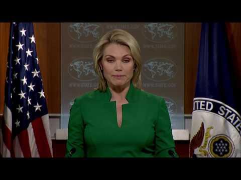 Department Press Briefing - August 15, 2017