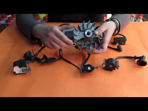 Как выбрать зажигание триммера бензинового - модуль, катушка зажигания мотокосы (бензокосы)