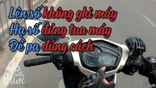 Vào số đúng tua máy - Khởi động xe côn tay đúng cách - Exciter 150 & Winner 150 | MinC Motovlog