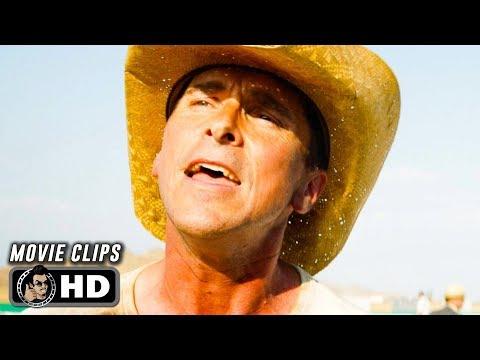 FORD V FERRARI Clips + Trailers (2019) Christian Bale, Matt Damon