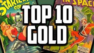 Overstreets Top 10 Golden Age Sci-Fi Comics!