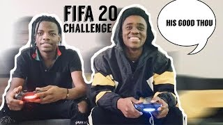 FIFA 20 Challenge | FIFA 20 Discard Challenge With MUFFIN *BARCELONA VS PSG