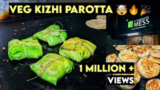 Veg Kizhi Parotta   | Street Food Chennai | Peppa Foodie #shorts #parotta