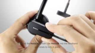 How to Customize the CS540 Headset