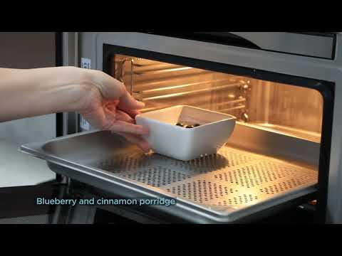 Rangemaster Steam Combi Oven RMB45SCBL-SS - Stainless Steel Video 1