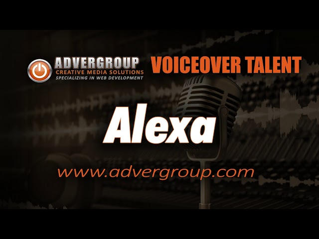 ALEXA Female VOICEOV ..