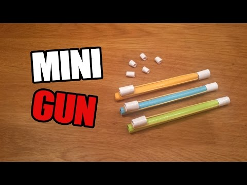 How To Make a Paper Mini / Pocket Gun That Shoots Bullets - Easy Paper Gun Tutorials