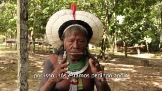 Cacique Raoni convoca população brasileira a participar da Mobilização Nacional Indígena