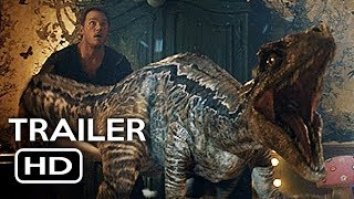 Jurassic World 2: Fallen Kingdom New International Trailer (2018) Chris Pratt Action Movie HD