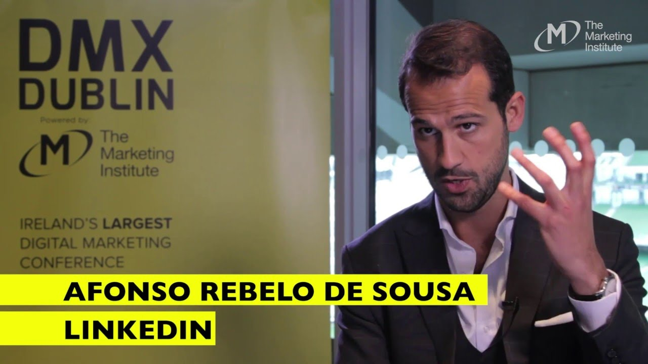 Afonso Rebelo de Sousa, LinkedIn - Interview @ DMX Dublin 2016