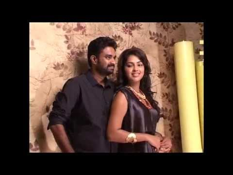 Amala Paul & A L Vijay - The Making Of Amala Paul & A L Vijay Photoshoot