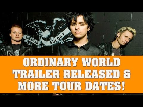 Download Green Day News:  Ordinary World Trailer Released & More Tour Dates Added on Revolution Radio Tour Mp4 HD Video and MP3
