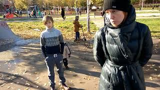 Яжемать в скейтпарке качает права #яжемать