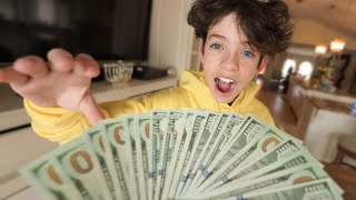 Surprising My Little Brother with $10,000! *2 hours to spend it*
