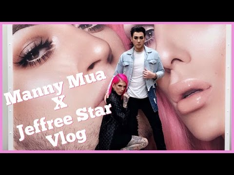 TRAVELING THE WORLD WITH MY BEST FRIEND | Manny MUA x Jeffree Star Collab Vlog