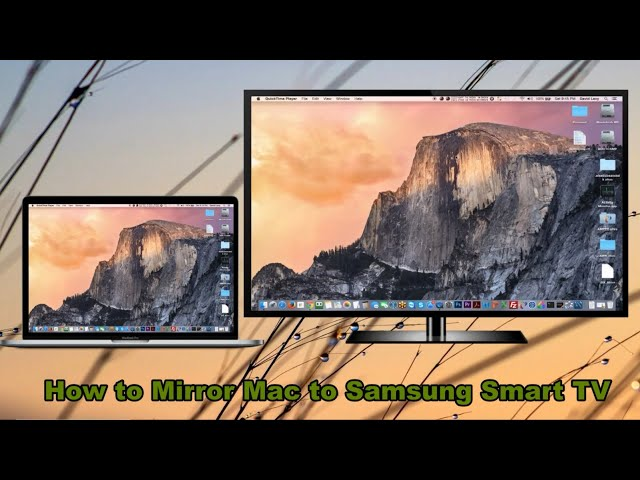 how to mirror mac to samsung tv