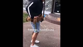 Юлия Ефременкова и Сергей Кучеров в сторис 23 08 2018