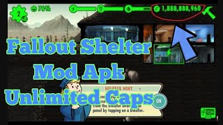 fallout shelter mod apk unlimited all