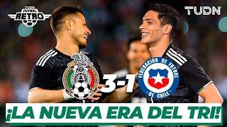 ¡Gran victoria! Así comenzó la era del 'Tata' Martino | México 3-1 Chile - Amistoso 2019 | TUDN