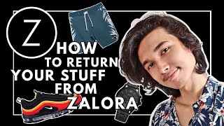 How to do a Refund or Return on ZALORA