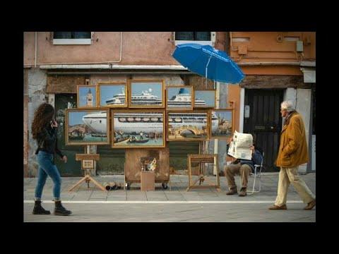العرب اليوم - شاهد: الفنان البريطاني بانسكي يكشف عن عمل فني جديد بـ