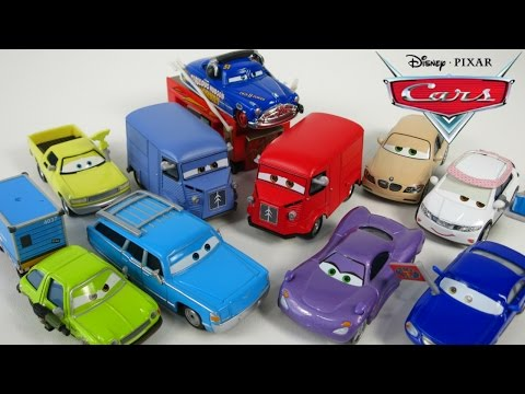 DISNEY PIXAR CARS 2 DINOCO MRS THE KING ACER HOLLY SHIFTWELL HUDSON HORNET PALACE CHAOS