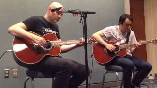 Smashing Pumpkins - For your love (ZWAN). Intimate acoustic show in Raleigh, NC (7/26/15)
