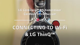 YouTube Video c8G9Tn-fE6k for Product LG CordZero A9 Kompressor Stick Cordless Vacuum Cleaner by Company LG Electronics in Industry Vacuums