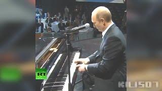 Смотреть онлайн Путин сыграл на пианино D.R.E. ft. Snoop Dogg - Still