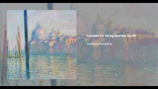 Fantasie for String Quartet, Op.40