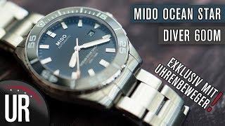 Mido Ocean Star Diver 600 + Uhrenbeweger |Test|Review|Deutsch